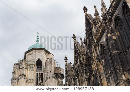 St. Stephan cathedral or church in Vienna Austria