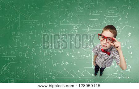 He is little genius