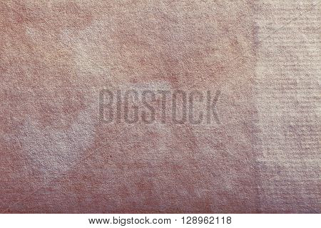 Old ribbed paperboard textured background with space for text