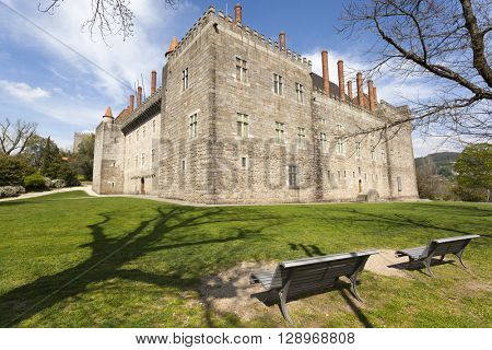 Palace of the Duques of Braganca, Guimaraes Portugal