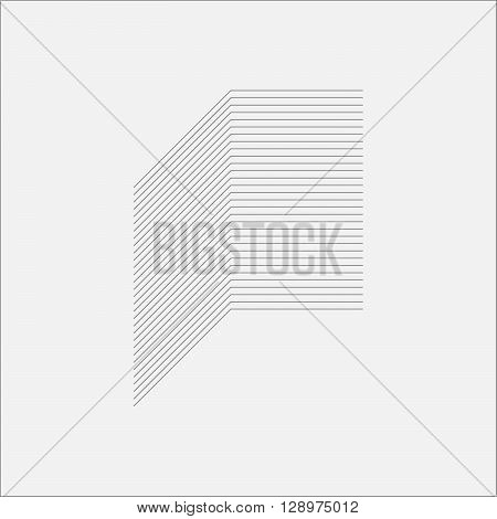 Abstract Ripple Stage Canvas Minimal Art Odd Design