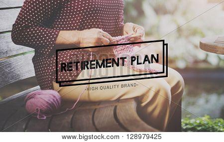 Retirement Plan Pension Insurance Life Concept
