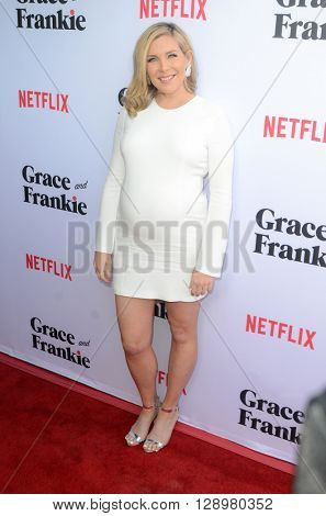 LOS ANGELES - MAY 1:  June Diane Raphael at the Grace & Frankie Season 2 Premiere Screening at the Harmony Gold on May 1, 2016 in Los Angeles, CA