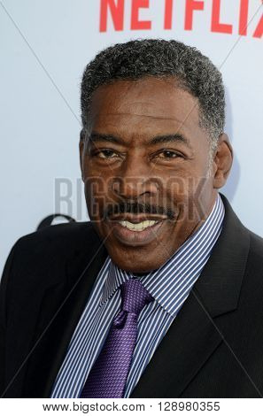 LOS ANGELES - MAY 1:  Ernie Hudson at the Grace & Frankie Season 2 Premiere Screening at the Harmony Gold on May 1, 2016 in Los Angeles, CA