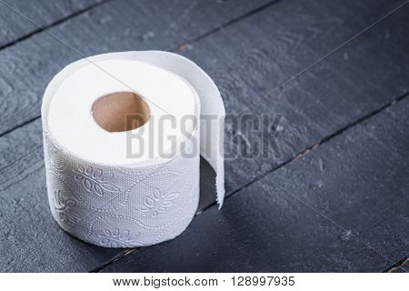 Toilet Paper On The Table