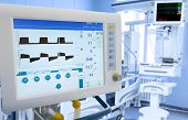 Mechanical Lung ventilation in intensive care unit poster