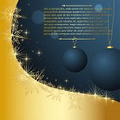 stock photo of happy holidays  - Merry Christmas and Happy New Year vector for xmas design - JPG