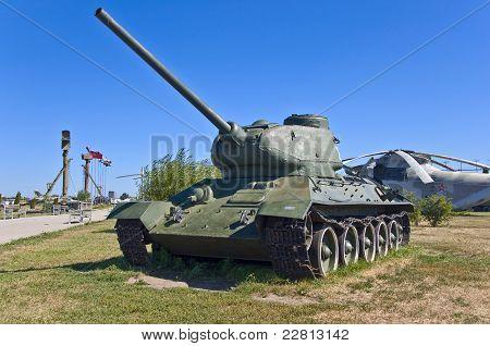 tanque de batalha russo