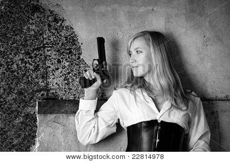 Woman Bounty Hunter