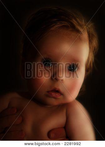 Scared Toddler
