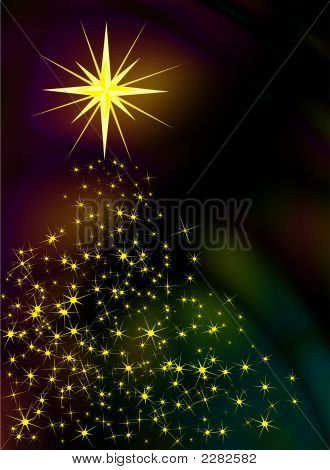 Sparkling Christmas Stars