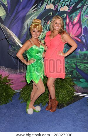 LOS ANGELES - AUG 19:  Tinkerbell, Tiffany Thornton at the D23 Expo 2011 at the Anaheim Convention Center on August 19, 2011 in Anaheim, CA