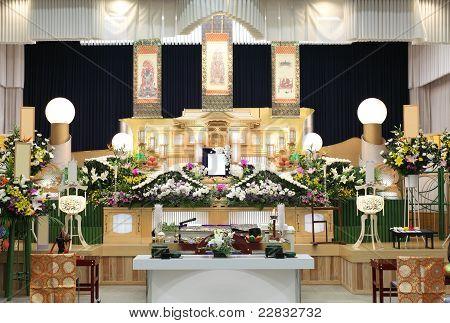 Beerdigung von japan