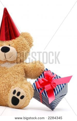 Bear With Gift Box
