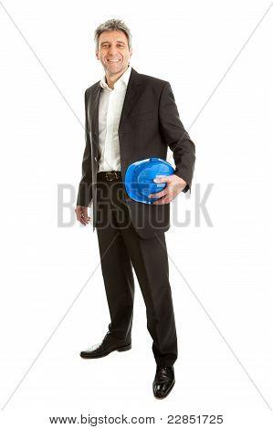 Portrait of successfull architect
