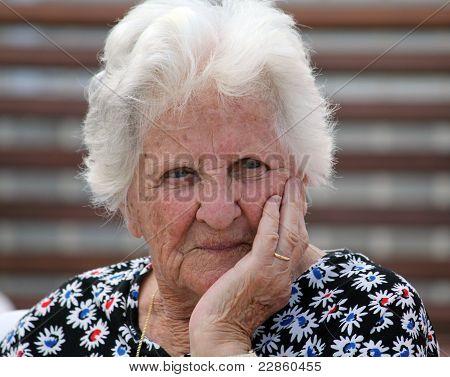 Beautiful Old Lady