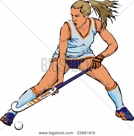 women`s grass hockey