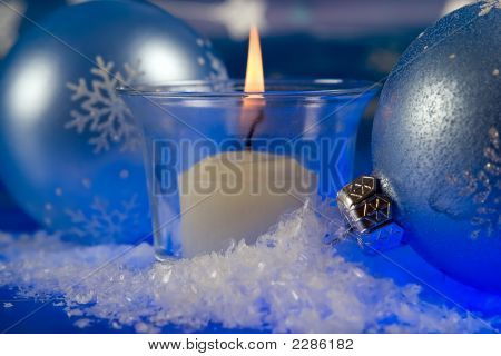 Christmas Magic Candle