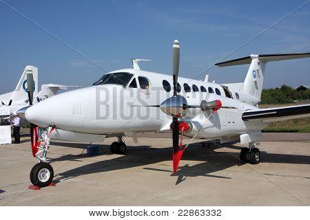 Passenger Aircraft Business Class Beechcraft King Air.