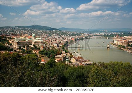 Skyline de Budapeste
