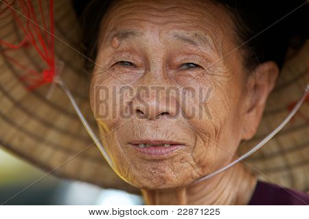 Vietnamese Old Woman
