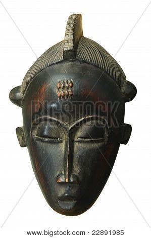 Wood African Mask