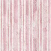 Vintage Pink Stripe Background. Old Aged Paper With Watercolor Hand Drawn Stripe Pattern. Vertical W poster