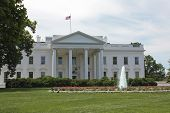 image of palladium  - view of the north side of the White House - JPG