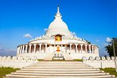 Ampara Peace Pagoda Or Ampara Sama Ceitya Is One Of A Number Of Japanese Peace Pagodas In The World poster
