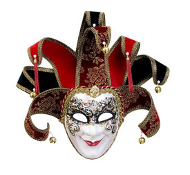 stock photo of masquerade mask  - A beautiful carnivale mask from venice Italy - JPG