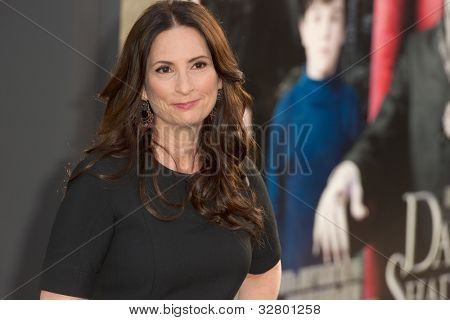 HOLLYWOOD, CA - MAY 7: Rona Pfeiffer arrives at the premiere of the Warner Bros. Pictures Dark Shadows on May 7, 2012 in Hollywood, California.