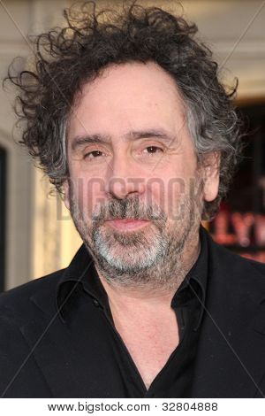 """LOS ANGELES - MAY 7:  Tim Burton arrives at the """"Dark Shadows"""" - Los Angeles Premiere at Graumans Chinese Theater on May 7, 2012 in Los Angeles, CA"""