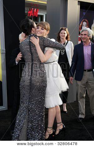 LOS ANGELES - MAY 7:  Eva Green, Bella Heathcote arrives at the
