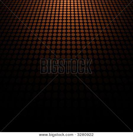 Orange Doted Background