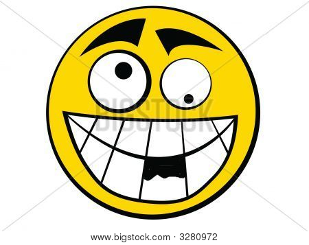 Smiley Icon Stupid