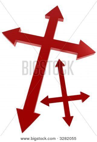 Double Arrow Cross