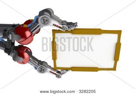 3 Finger Arm, Sign