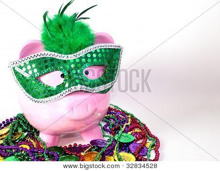 Mardi Gras Pig