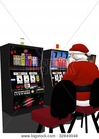 Santa Playing Slots