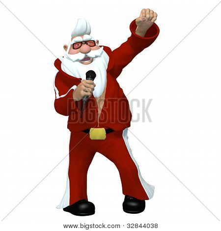 Santa - Elvis Impersonator