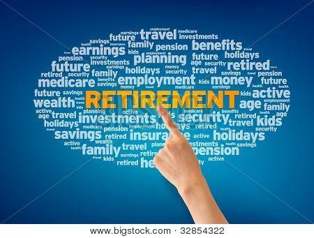 Eintritt in den Ruhestand