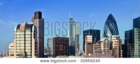 View Of London Business District