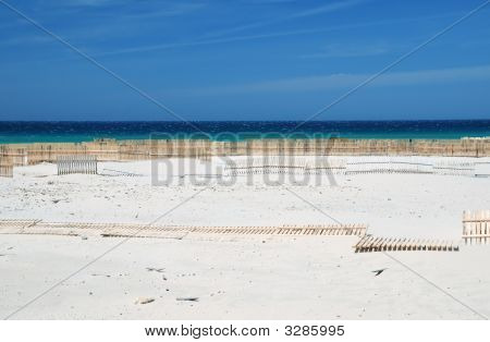 Gusty Beaches With Sand