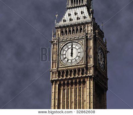 12 no Big Ben, London