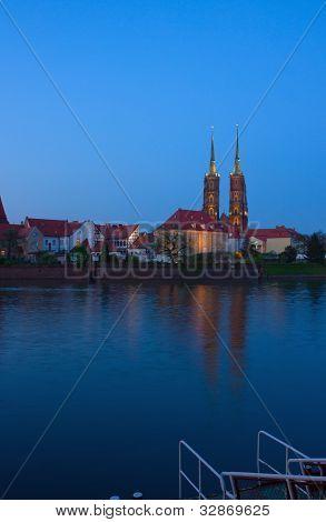 island Tumsk, Wroclaw, Poland