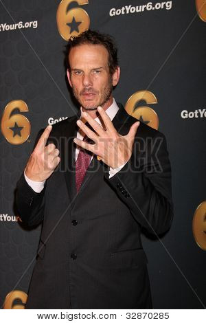 LOS ANGELES - MAY 10:  Peter Berg arrives at the Launch of Got Your 6  at SAG / AFTRA Headquarters on May 10, 2012 in Los Angeles, CA