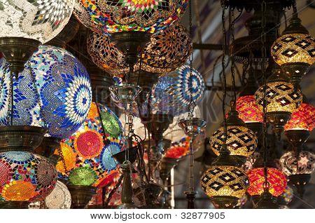 Traditional turkish lanterns