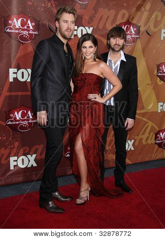 LOS ANGELES - OCT 06:  Lady Antebellum arrives to the American Country Awards 2010  on October 06, 2010 in Las Vegas, NV.