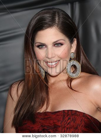 LOS ANGELES - OCT 06:  Hillary Scott (Lady Antebellum) arrives to the American Country Awards 2010  on October 06, 2010 in Las Vegas, NV.