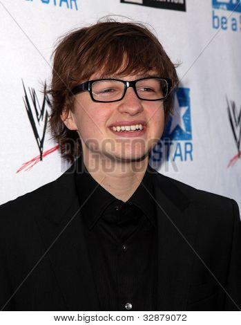 LOS ANGELES - APR 29:  Angus T. Jones arrives to the Anti-Bullying Alliance Launch  on April 29, 2010 in Washington D.C.